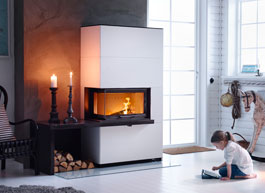 Fireplaces and masonry stoves from Contura
